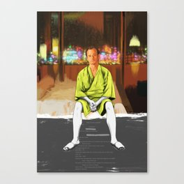 Lost in translation | Bill Murray | Painting Canvas Print
