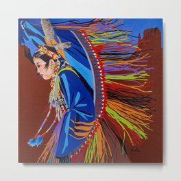 Shaw Dancer #2 Metal Print