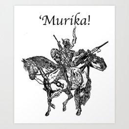 'Murika! Art Print