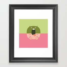 Pantless Project / OZ Framed Art Print