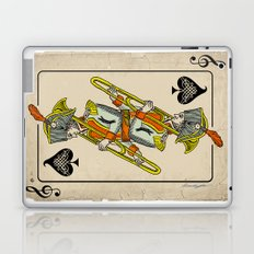 musical poker / trombone Laptop & iPad Skin