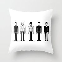 oasis Throw Pillows featuring Oasis by Band Land