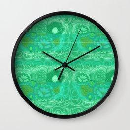 le fleur! Wall Clock