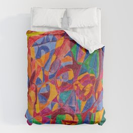 A Face of Contemplation Comforters
