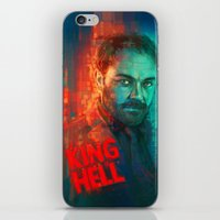 crowley iPhone & iPod Skins featuring Crowley... MORONS! by Sempaiko
