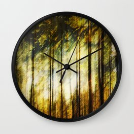 Forest of Surrealism Wall Clock