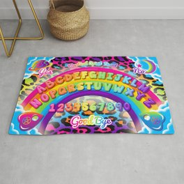 1997 Neon Rainbow Spirit Board Rug