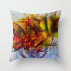 Fractal art Throw Pillow