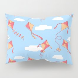 kites and clouds Pillow Sham