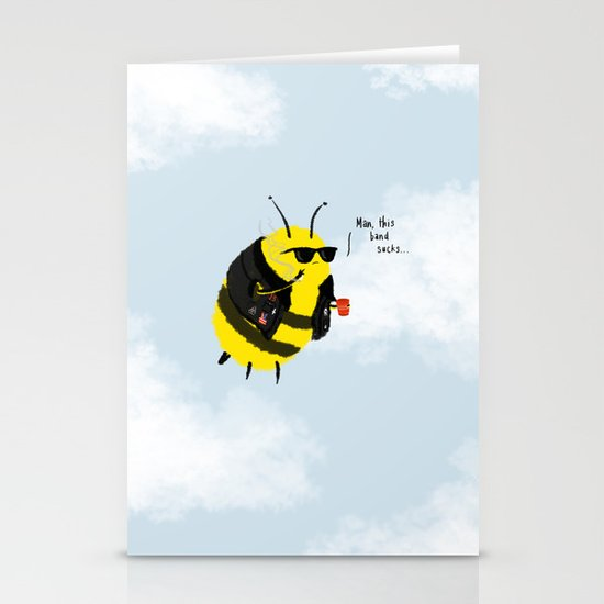 Festival Bees Stationery Cards
