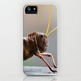 Grasshopper iPhone Case