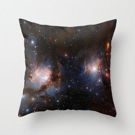 Messier 78 Throw Pillow