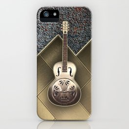 Old  Gretsch Acoustic Resonator   iPhone Case