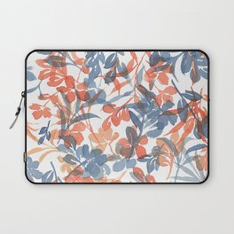 Watercolor Spring Flowers Cascading Laptop Sleeve