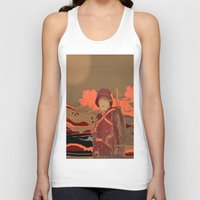 soldier Tank Tops featuring Soldier ( drawing) by Joe Ganech