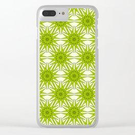 Geometrix II Clear iPhone Case