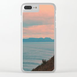 Pastel vibes 74 Clear iPhone Case