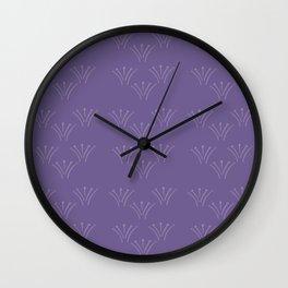 Berries n Cream Purple Wall Clock