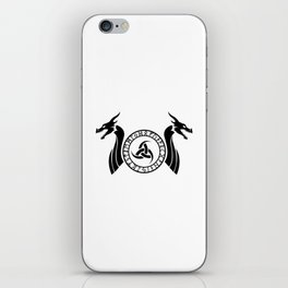 Norse Dragon - Triple Horn of Odin iPhone Skin