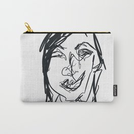 Portraiture Carry-All Pouch