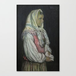Selma by Ants Laikmaa, 1922 Canvas Print