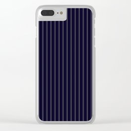 Perfect Pinstripes by Leslie Harlow Clear iPhone Case