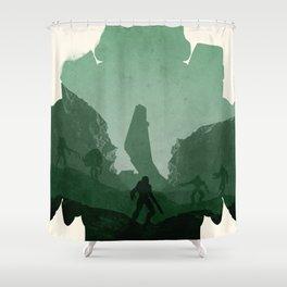 Halo 3 Shower Curtain