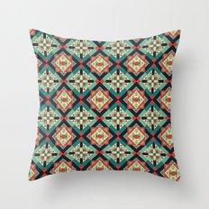 Morrocan Geometric Culture 1 Throw Pillow