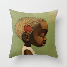 lula bell Throw Pillow