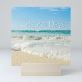beach days Mini Art Print