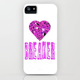 Heart Breaker iPhone Case