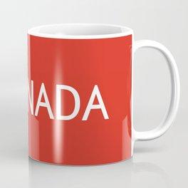 Canada: Maple Leaf Coffee Mug