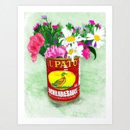 El Pato, still life Art Print