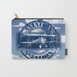 Retro Aviation Art Carry-All Pouch