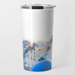242. Santorini's View, Greece Travel Mug
