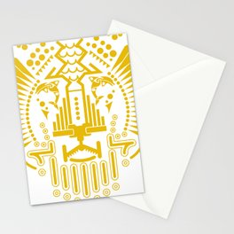 THE DOLPHIN & THE LION Stationery Cards