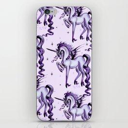 Unicorn with Bat Wings iPhone Skin