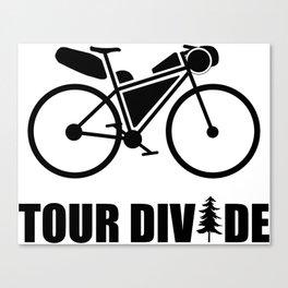 Tour Divide Bikepacking Canvas Print
