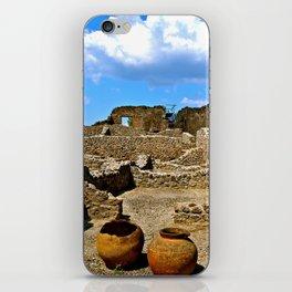 Pompeii, Italy iPhone Skin