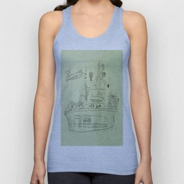 The USS Ryan Carrier Unisex Tank Top