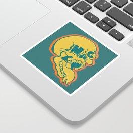 ArtByMc Skull Sticker