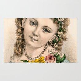 Little Flower Girl Rug