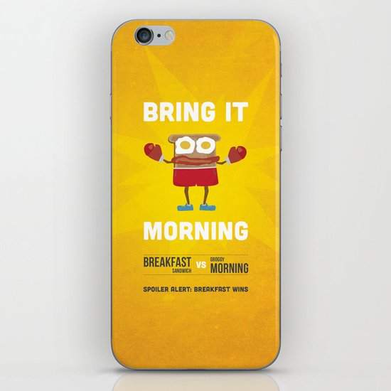 Bring It Morning iPhone & iPod Skin