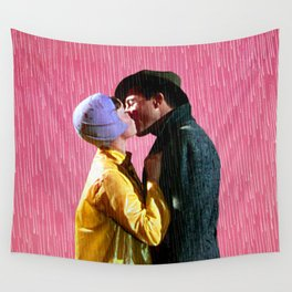 Singin' in the Rain - Pink Wall Tapestry