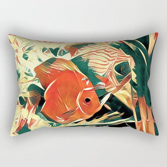 Small Fish Rectangular Pillow