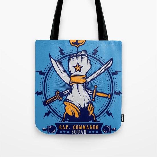 CAP. COMMANDO TEAM Tote Bag