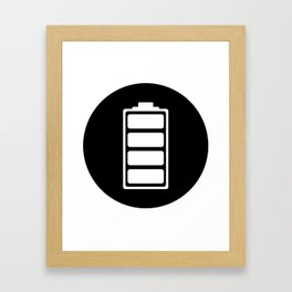 Charged Ideology Framed Art Print