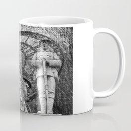 Landmarks 2 Black And White Coffee Mug