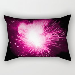 Pink Spark Rectangular Pillow
