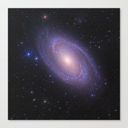 Spiral Galaxy Space Image Canvas Print